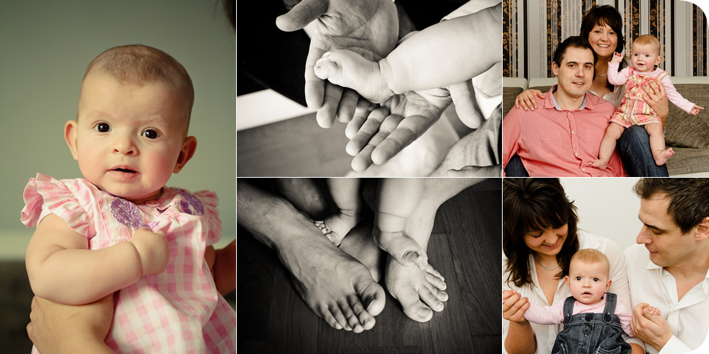 Baby - Familien Home Fotoshooting