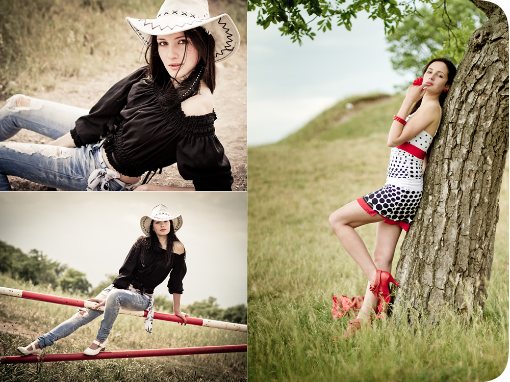 Country Western Portrait Lifestyle