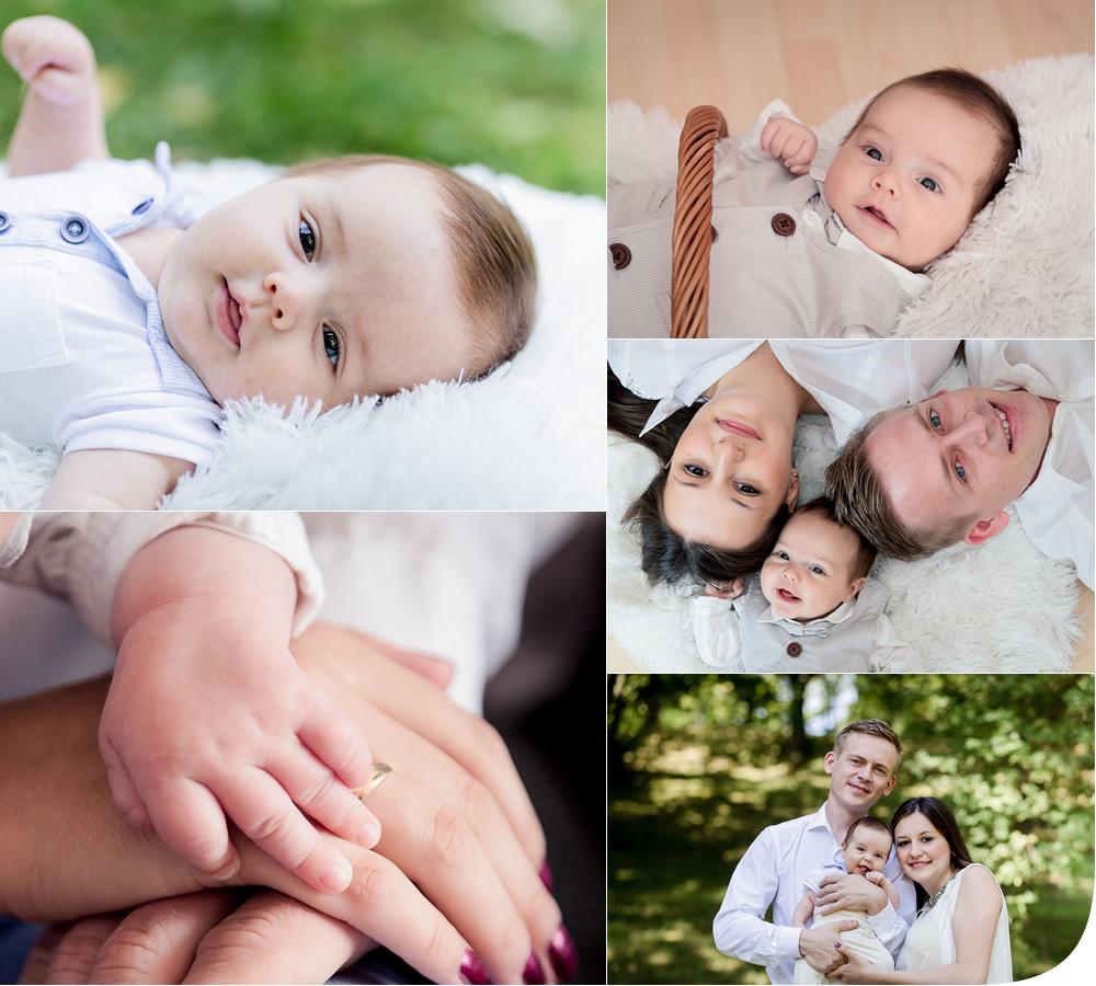 Familien Baby Portraits