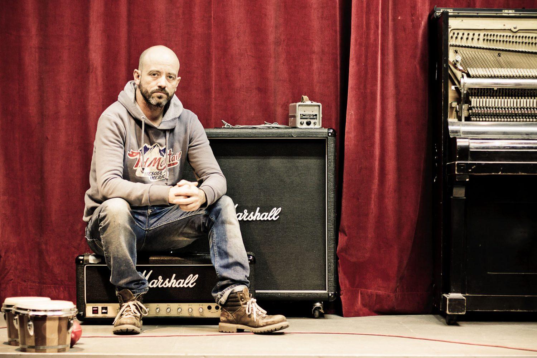 StudioPortrait des Musikers und Produzenten Frithjof Rödel aus Erfurt
