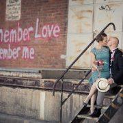 romantisches Hochzeitsbild