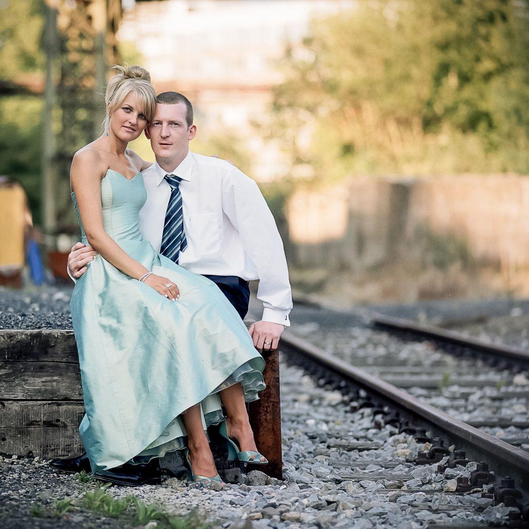 analog, auf Mittelformat (6*4.5 Pentax645N) Kodak Porta fotografiertes Hochzeitsbild