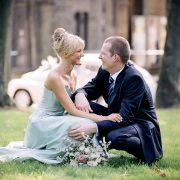 analog, auf Mittelformat (6*4.5 Pentax645N) fotografiertes Hochzeitsbild