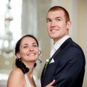Portrait vom Hochzeitspaar