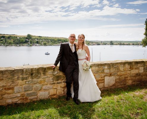 südlich wirkendes Hochzeitsbild