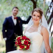 Hochzeitspaar im Auerworld Palast