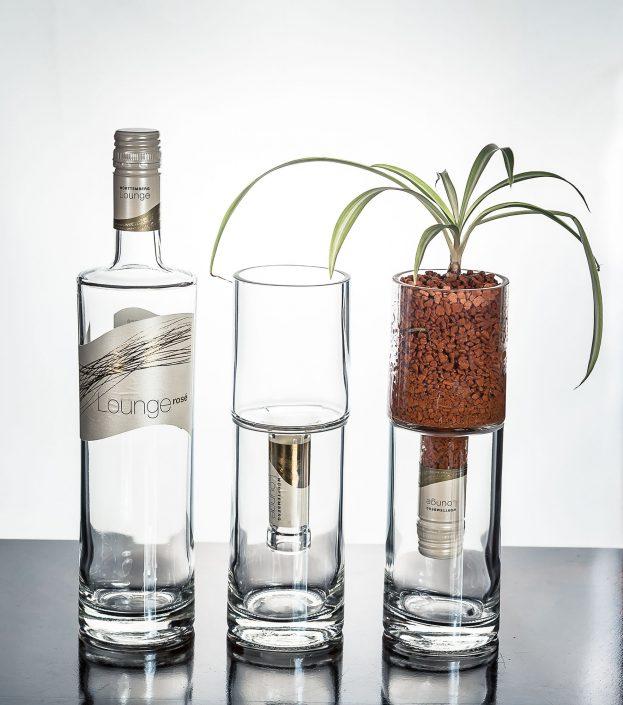 Reinkarnation einer Flasche