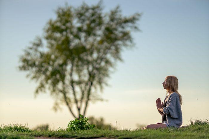inspirierendes Yoga Outdoor Fotoshooting in Erfurt
