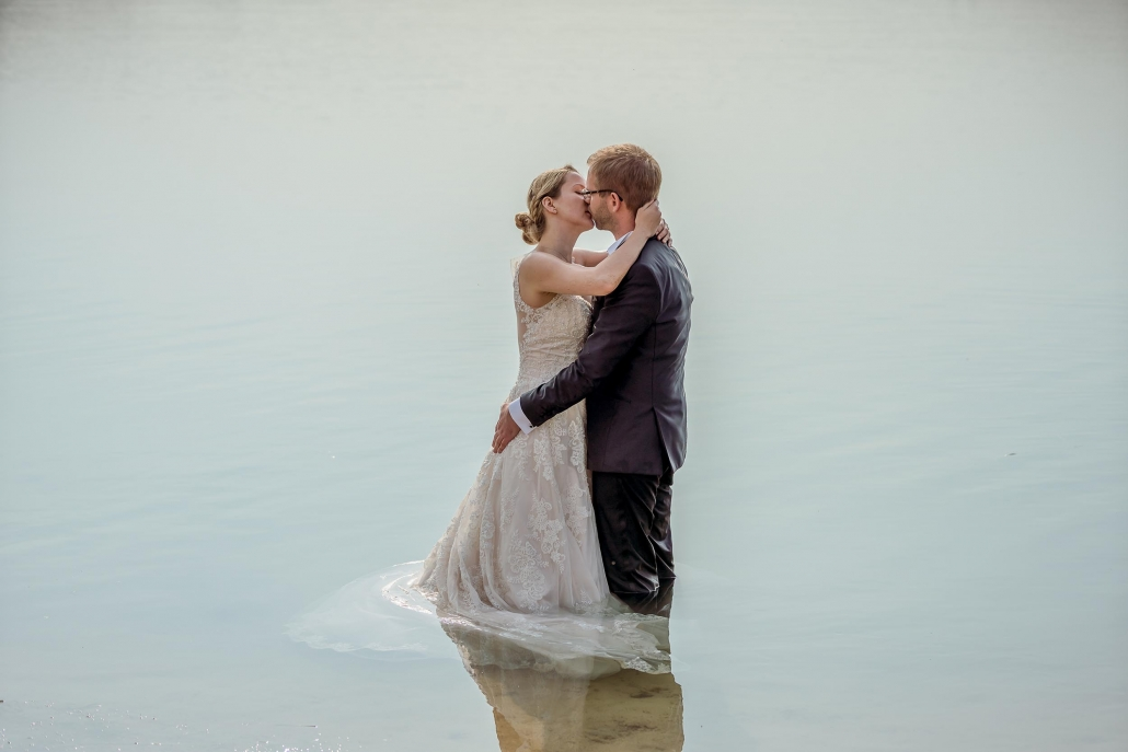 kuss im Wasser