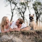 Paarbilder mit franzoesische Bulldogge