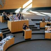 begleitende Reportage Anja Siegesmund #fridaysforfuture-Bewegung & aktuellen Stunde zur Klimaschutzbewegung im Thüringer Landtag