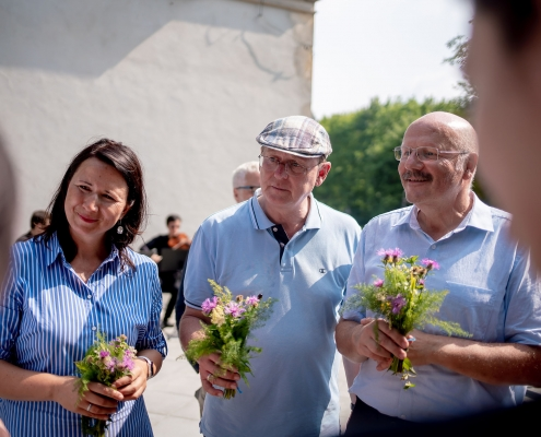 Reportage Sommertour 2019 Umweltministerin Anja Siegesmund & Ministerpräsident Bodo Ramelow