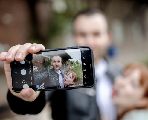 das heute unvermeidliche Selfie Canon EOSR & EF 35mm f/1.4l ii usm